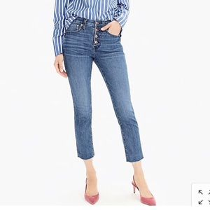 J.Crew Vintage Straight Distressed Jeans